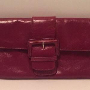 Hobo International Leather Clutch
